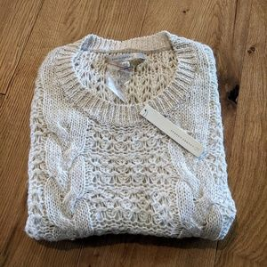NWT Ivory Sweater